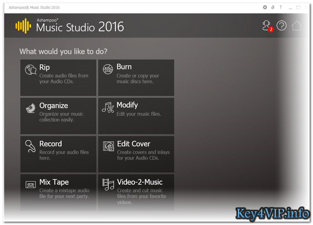 Ashampoo® Music Studio 2016 Full Key - Phần mềm Tạo, chỉnh sửa, thiết kế bài hát của bạn