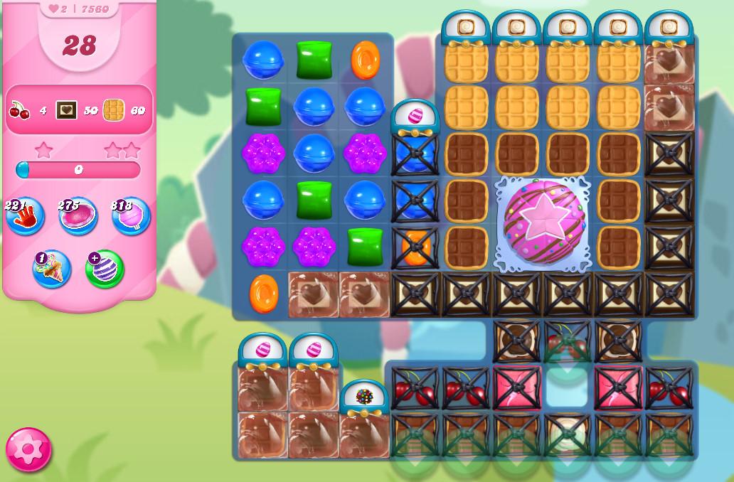 Candy Crush Saga level 7560