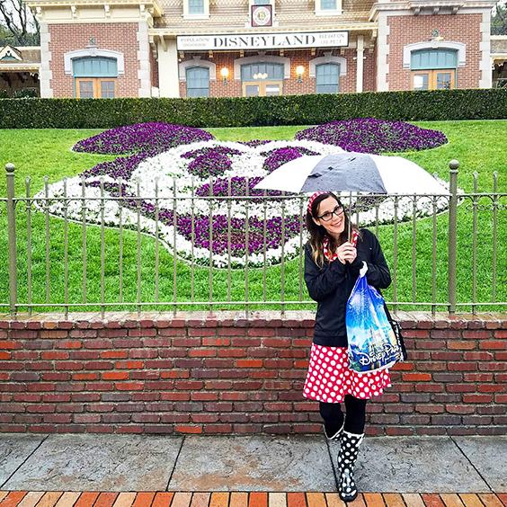 Rainy Days at Disneyland- Rock the Dots