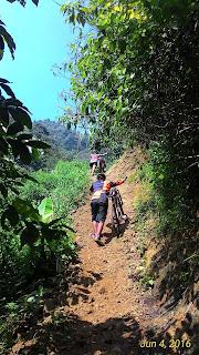 Sepeda Gunung Curug Kalimata
