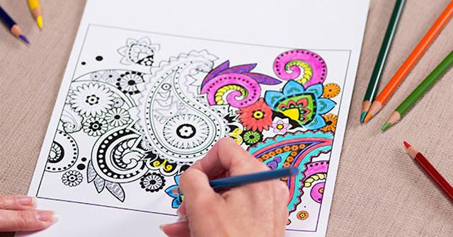 Coloring Book: Warnai Hidup dengan Sabar