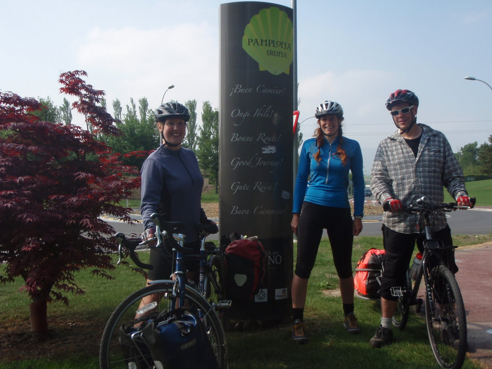 Camino Santiago Bike Spain And France 2011
