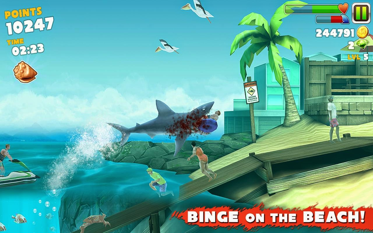 how to get unlimited coins in hungry shark