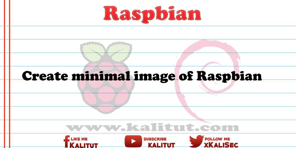 Raspbian image file
