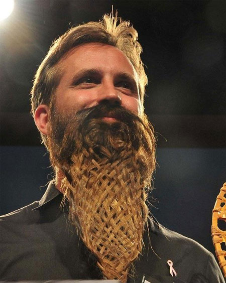 interesting beard