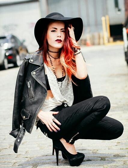 how to be a tumblr girl luanna perez grunge bohemian chic diy popoular tumblr girl instagram fashion blogger fashion's obsessions zairadurso