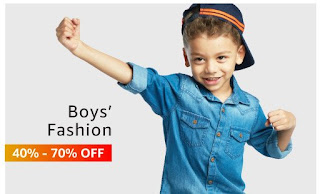 boy's fashion up to 40%-70% off