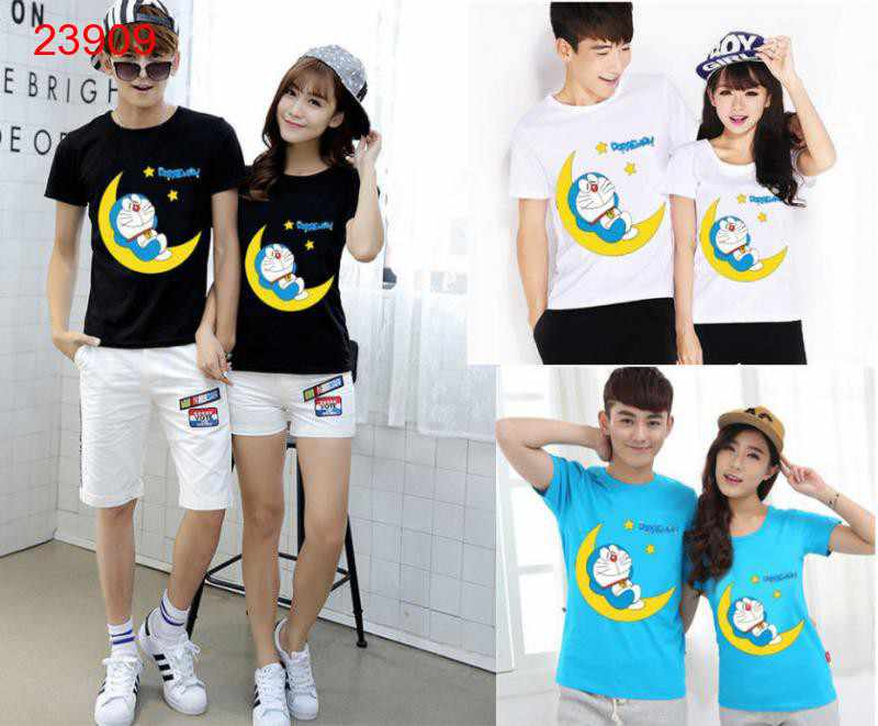 Jual Baju Couple Moon Dora - 23909