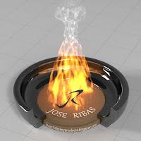 Material Blender Fuego