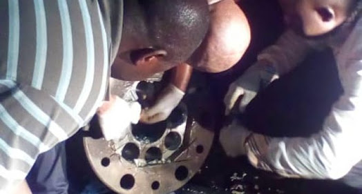 Cocaine Concealed Inside Iron Recovered At PH Seaport (Photos)
