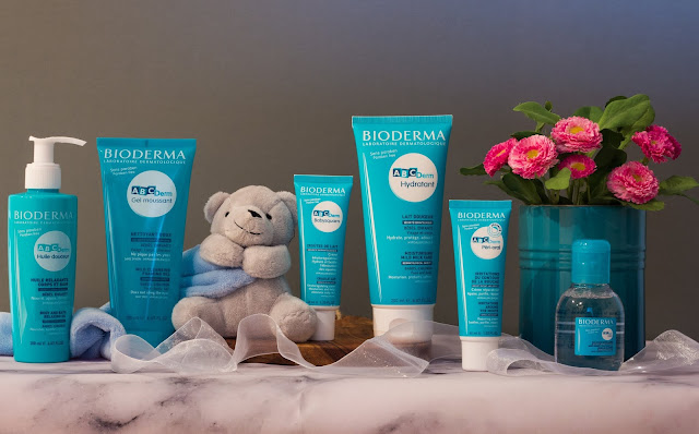Products from the baby and child skincare range from BIODERMA called ABCDerm which are being reviewed