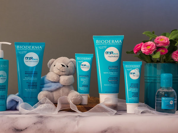 Review of ABCDerm: The BIODERMA Skincare Range for Babies and Children