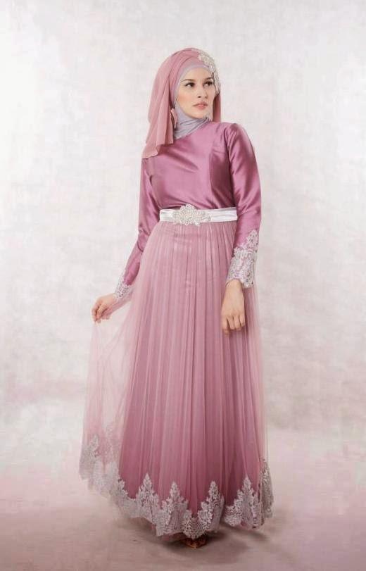 Model Dress Busana Muslim Cantik dan Elegan
