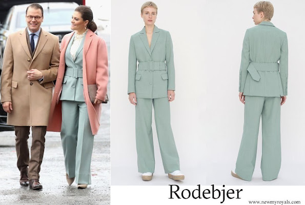 Crown Princess Victoria wore RODEBJER Anitalia Suit
