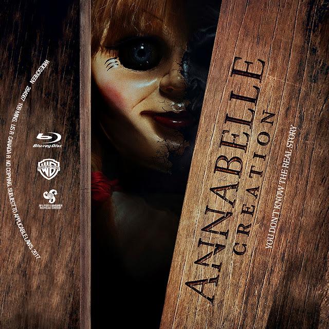 Annabelle: Creation Bluray Label