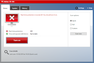 Windows Defender Non-Aktif