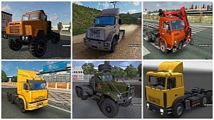 Russian Trucks Pack