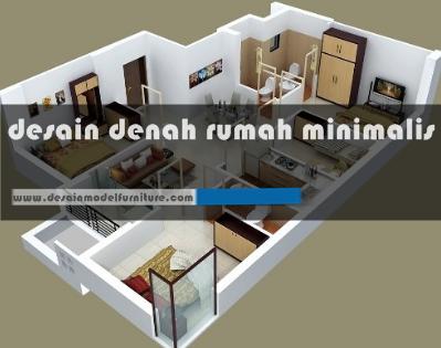 12 contoh desain rancangan denah rumah minimalis modern