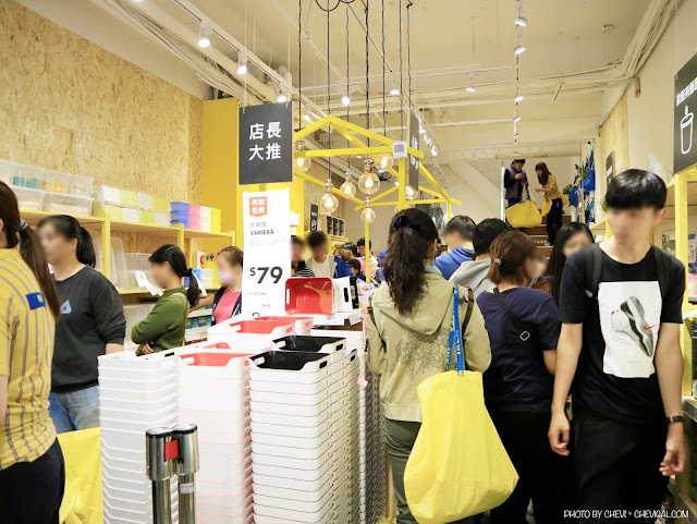 IMG 0588 - IKEA百元商店逢甲店今天開幕!排隊人潮塞爆現場,精選限定商品情報大公開