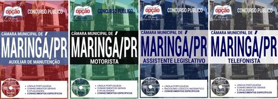 Apostila concurso Câmara de Maringá - PR 2017