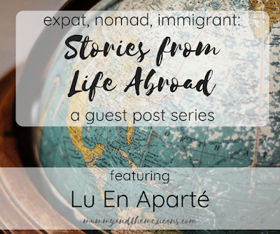 Expat, Nomad, Immigrant: Stories From Life Abroad A Guest Post Series Featuring Lu En Aparté - Image Shows Antique Globe Turned To Mexico