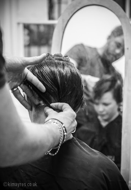 Kim Ayres - Fashion Shoot at the Rural Mural