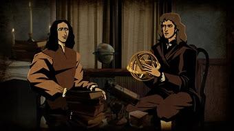 Halley y Newton (Cosmos)