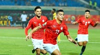 مصر تفوز على الكاميرون بهدفين لهدف وتتصدر المجموعة بالعلامة الكامله في بطولة أفريقيا تحت 23 سنة