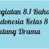 Kegiatan 8.1 Bahasa Indonesia Kelas 8 tentang Drama