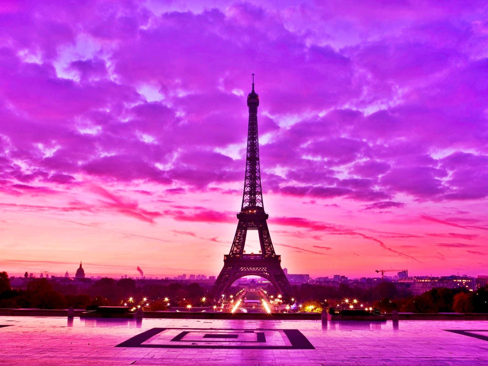 eiffel tower paris pink - photo #4