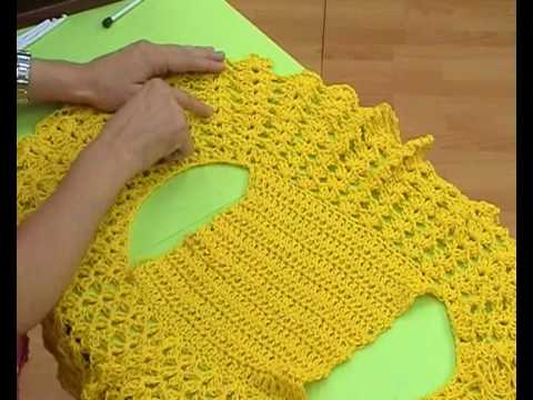 bolero crochet easy to make video