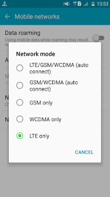 Cara Unlock Jaringan 4G LTE Samsung J1 Ace J2 dan J3 Lollipop