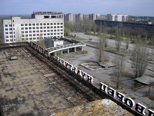 Pypriat, la ciudad más cercana a Chernoby, ciudad fantasma