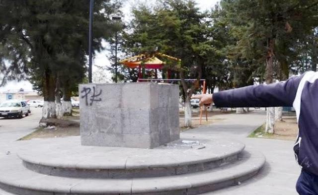Estatua, ecología, árboles