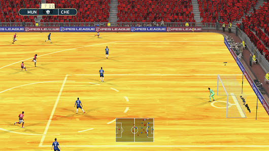 PES 2013 Basketball turf Mod (Old Trafford) by Micano4u