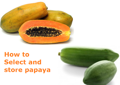 Health Benefits of Papaya - Paw paw How to Select and store papaya