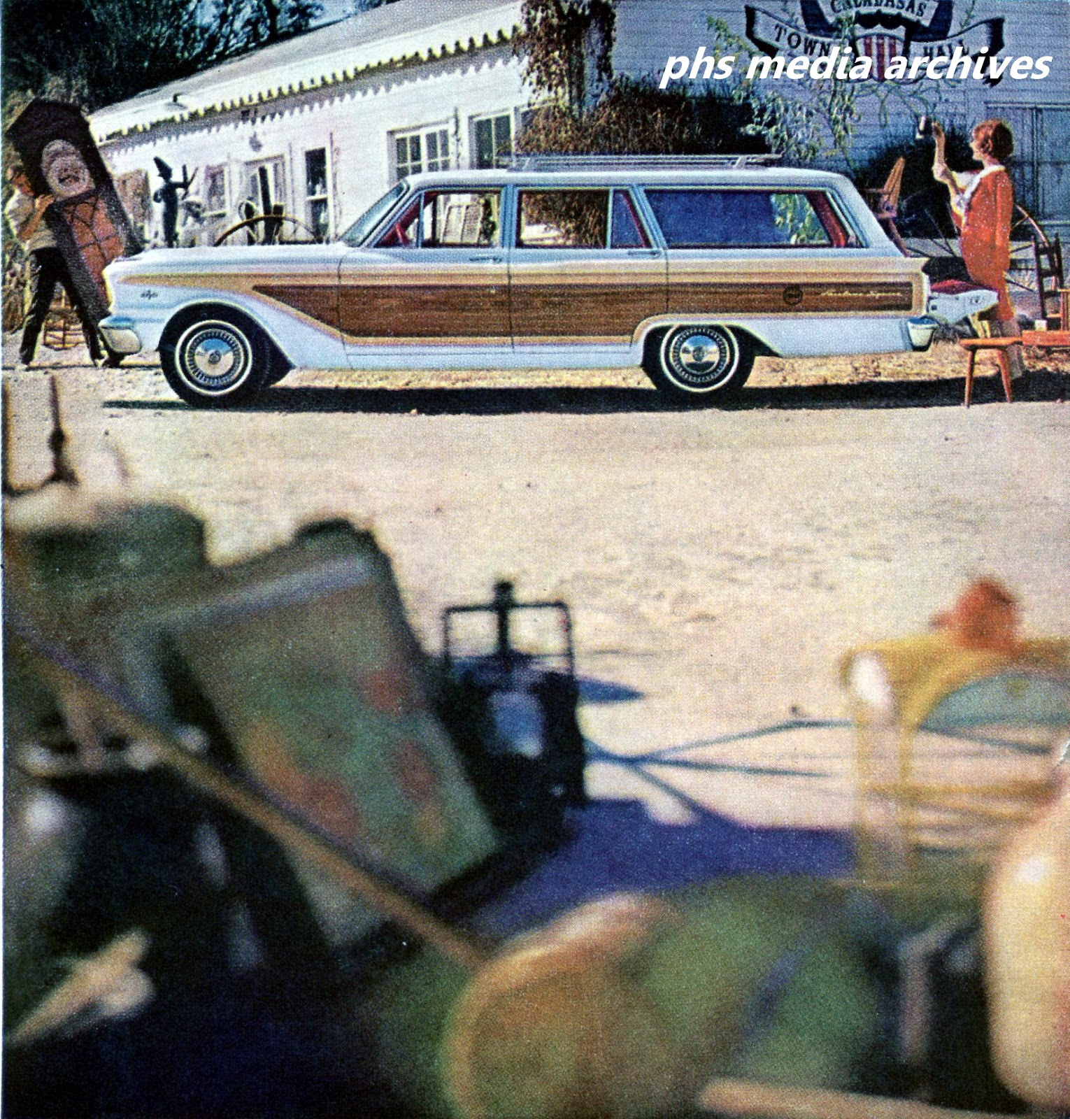 Ford Station Wagon Line Up 1963 Phscollectorcarworld 1960 Studebaker Lark Wiring Diagram This Is A Fairlane Squire Doing Antique Round Duty