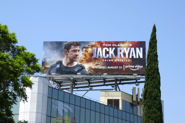 Jack Ryan series launch billboard