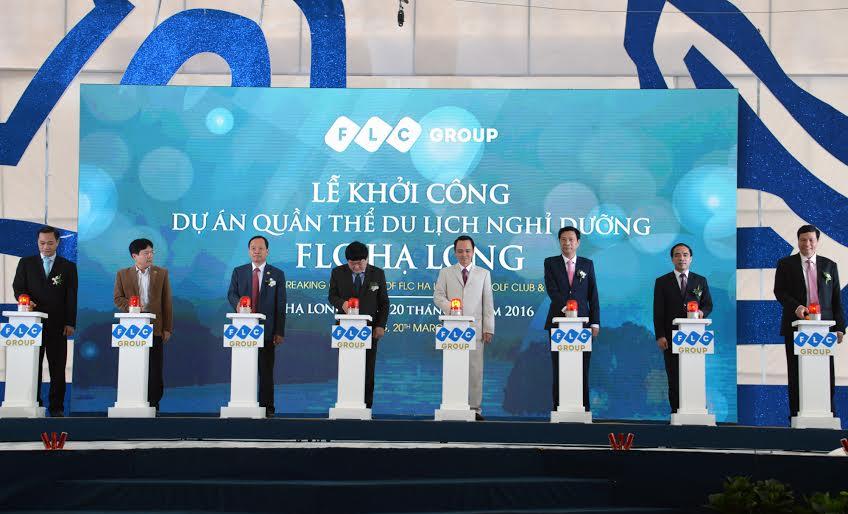 Lễ khởi công Dự án FLC Hạ Long