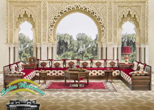 Salon marocain / les portes antiques 2017