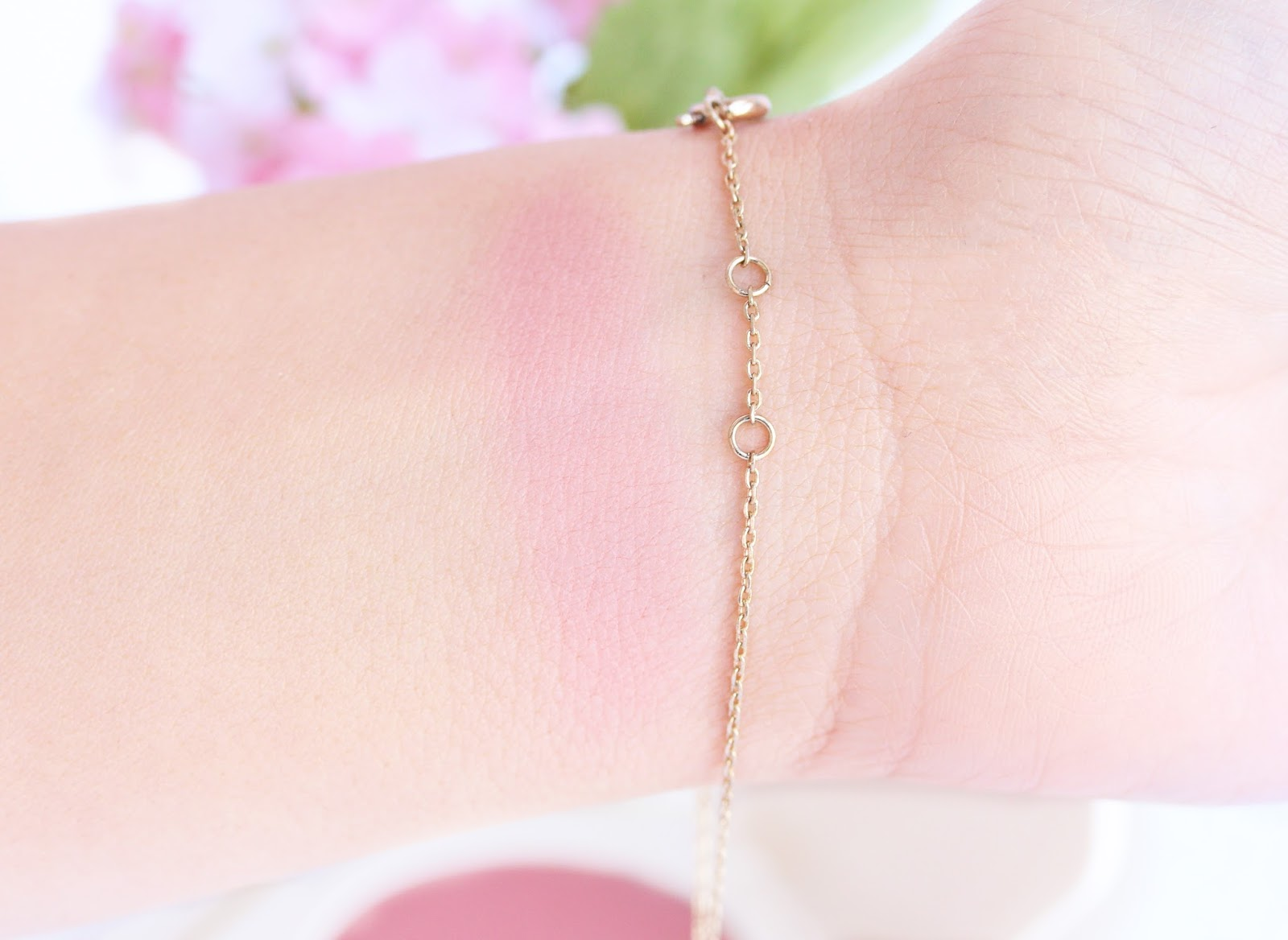 H&M Pure Velvet Cream Blush in Dusty Rose Swatches
