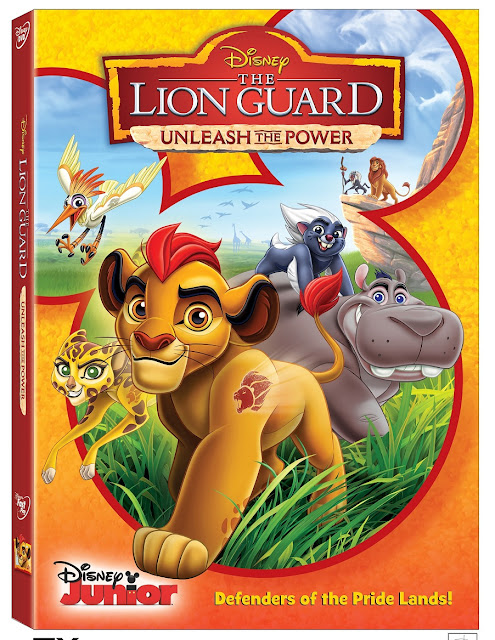 The Lion Guard Unleash The Power Activity DVD Sheets page