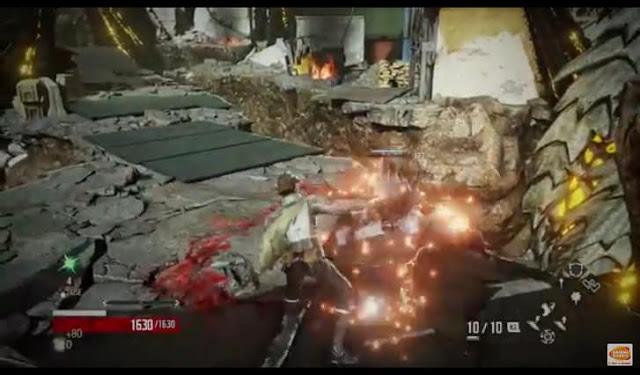 Second Screenshot from Code Vein Trailer