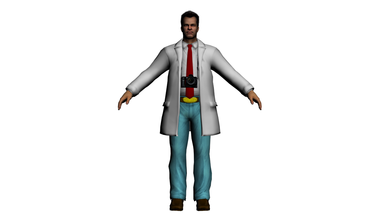 Solidcal Modding Wip Dead Rising 2 Case West Frank West In The Lab Coat Outfit