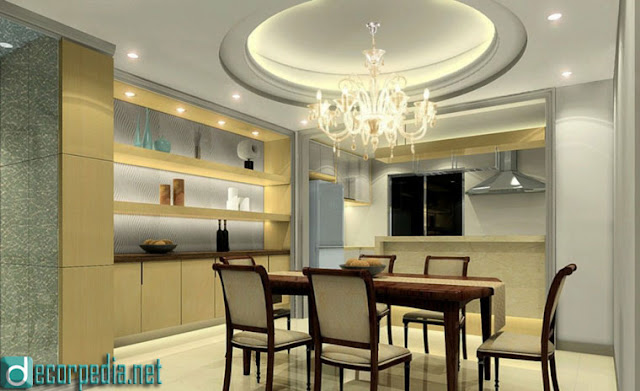 latest false ceiling design, modern false ceiling ideas for kitchen and dining room