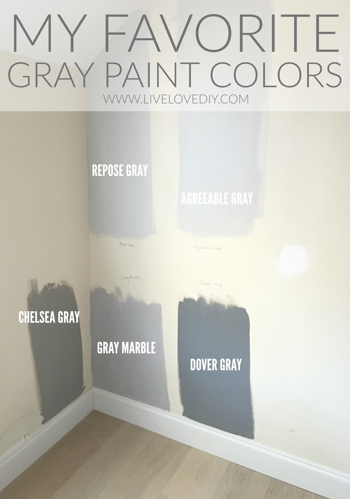 Livelovediy ava 39 s baby room reveal - Designer gray paint color ...