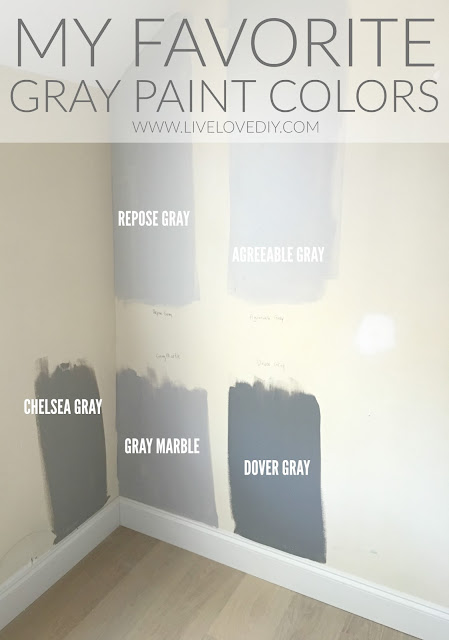 Livelovediy ava 39 s baby room reveal Best light gray paint color