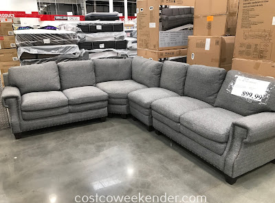 Watch tv, take a nap in your living room or family room on the Fabric Sectional