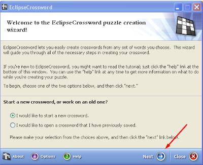 Membuat TTS (Teka Teki Silang) Menggunakan Eclipse Crossword