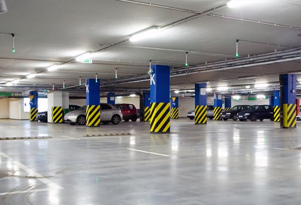 Tầng hầm chung cư rộng rãi sẽ đủ chỗ đỗ ô tô xe máy cho rất nhiều cư dân